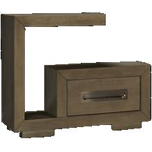Accentrics Home Tru Modern Cantilever Nightstand