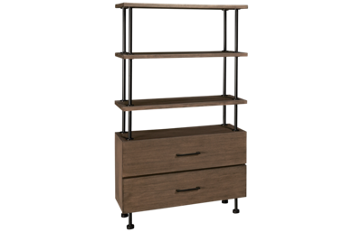 Accentrics Home Industrial 2 Drawer Etagere