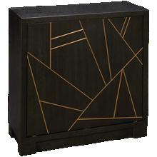 Accentrics Home Tru Modern Revolving Door Bar