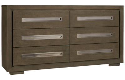 Accentrics Home Tru Modern 6 Drawer Dresser