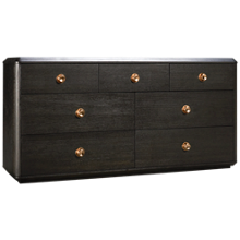 Accentrics Home Tru Modern Dresser 7 Drawer