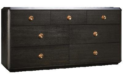 Accentrics Home Tru Modern Dresser 7 Drawer