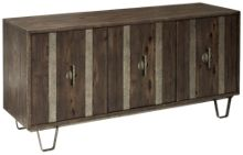 Accentrics Home Modern Authentics Three Door Console