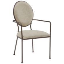 Accentrics Home Oval Back Dining Chair