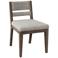Accentrics Home Upholstered Back Side Chair