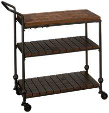 Bassett Mirror Emery Bar Cart