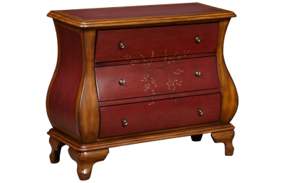 Accentrics Home Hand Painted Bombay Chest