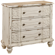 Accentrics Home Ornate Overlay Drawer Chest