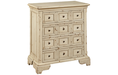 Accentrics Home White Distressed Drawer Chest