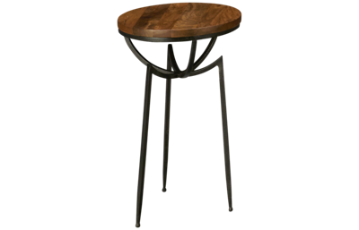 Hekman Accents Collection Tripod Chairside Table