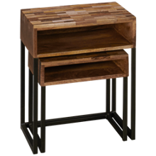 Coast To Coast Imports Bakers Nesting Tables