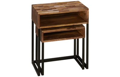 Coast To Coast Imports Bakers Nesting Tables Set