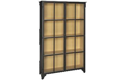 Accentrics Home Modern Authentics 2 Door Metal Display