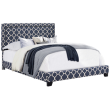 Accentrics Home Small Spaces Queen All in One Upholstered Bed
