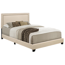 Accentrics Home Queen Upholstered Bed