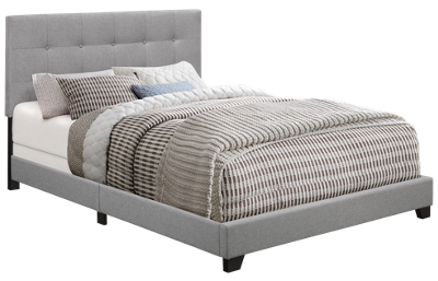 Accentrics Home King Upholstered Bed