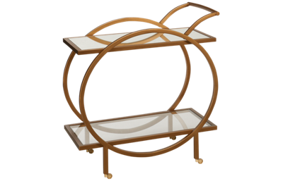 Bassett Mirror Marney Bar Cart
