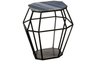 Coast To Coast Imports Octagonal Accent Table