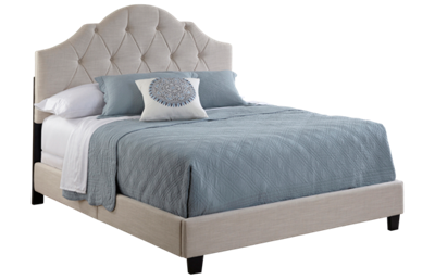 Accentrics Home King Tufted Upholstered Bed