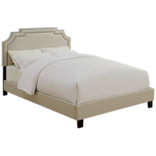 Accentrics Home Queen All-In-One Shaped Bed