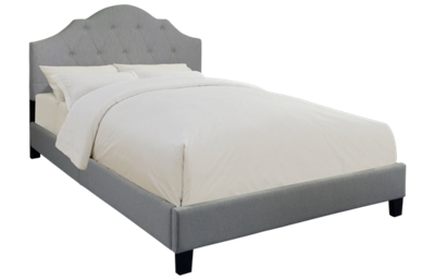 Accentrics Home King All-In-One Upholstered Bed