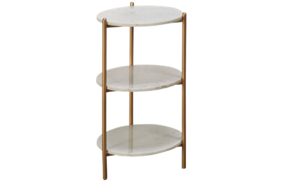 Coast To Coast Imports 3-Tier Round Accent Table