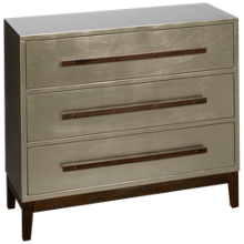 Coast To Coast Imports Accents 3 Drawer Chest