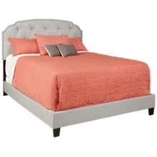 Accentrics Home Tufted Upholstered Queen Bed