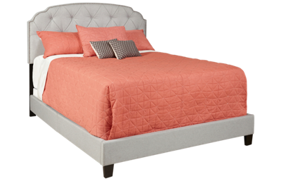Accentrics Home Tufted Upholstered King Bed