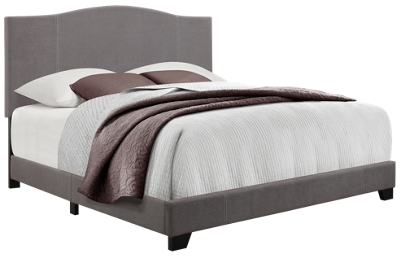 Accentrics Home Camel Back All-In-One King Bed