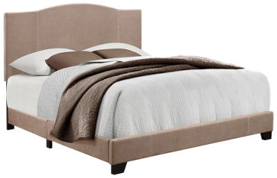 Accentrics Home Camel Back All-In-One Queen Bed