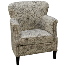 Jofran Globetrotter Accent Chair