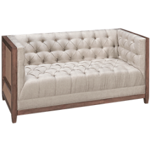 Accentrics Home Modern Authentics Deconstructed Loveseat