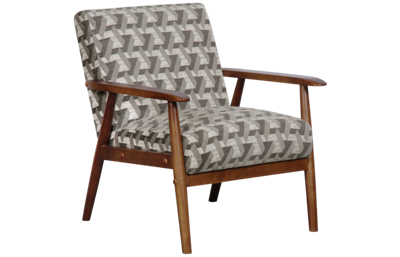 Accentrics Home Wood Frame Accent Chair