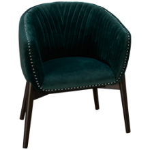Accentrics Home Urban Eclectic Channel Back Club Chair