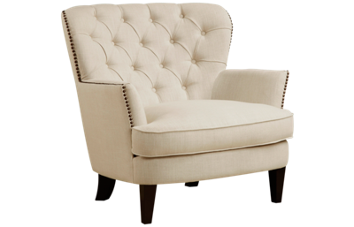 Accentrics Home Tufted Wing Back Chair