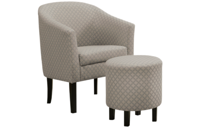 Monarch Specialties Accent Chair And Ottoman