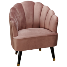 Accentrics Home Tru Modern Channeled Accent Chair