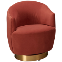Accentrics Home Tru Modern Swivel Accent Chair