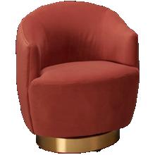 Accentrics Home Tru Modern Swivel Accent Chair
