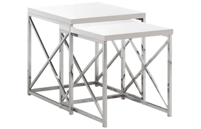 Monarch Specialties Nesting Table Set