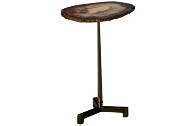 Hammary Blue Accent Table