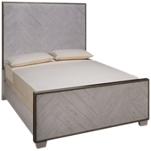 Accentrics Home Modern Authentics Queen Panel Bed