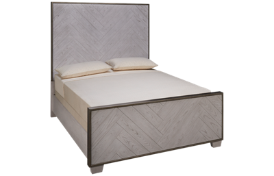 Accentrics Home Modern Authentics King Panel Bed