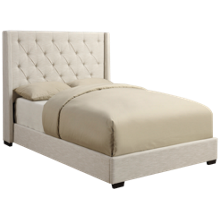 Accentrics Home Tufted Shelter Queen Bed