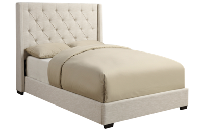 Accentrics Home Tufted Shelter King Bed