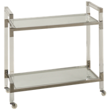 A&B Home Group Danielle Soho Service Trolley Cart