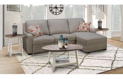 Sydney 4 Piece Living Room Set Includes: Reclining