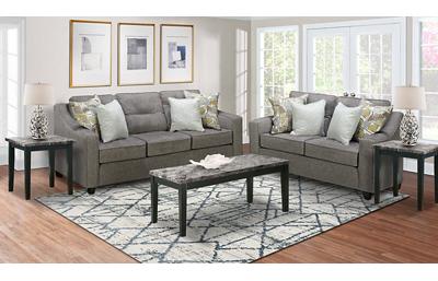 Collin 5 Piece Living Room Set Includes: Sofa,