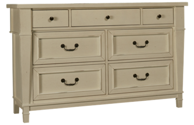 Folio 21 Furniture Stoney River 7 Drawer Dresser